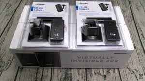 Bose Ub 20 Wallceiling Bracket by Bose Virtually Invisible 300 Wireless Surround Speakers Youtube