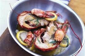 cuisiner homard congelé homard au beurre citronné et à l estragon
