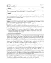 Construction Resume Sample Project Manager Gallery Of