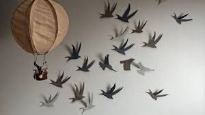 How To Make Bird Wall Simple Art