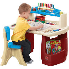 Toddler Easels U0026 Art Desks by Step2 Deluxe Art Master Desk With Chair Walmart Best Chair