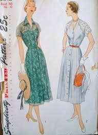 Vintage 50s Dress Pattern Simplicity 4634 By ThePatternSource 3200 See More P1100003