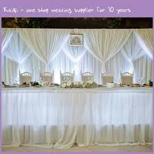 White Sheer Voile Curtains by White Cheap Wedding Voile Backdrop Draping Fabric Kaiqi Wedding