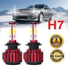 new led h7 headlight bulb kit 40000lm for mercedes c300 b200