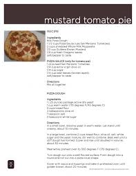 Learn How To Make Our Homemade Mustard Tomato Pizzas Yes MUSTARD