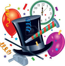 New year party clipart Clipart Collection