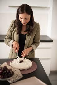 no bake kuchen rezept mit kirschen granola ohne soja