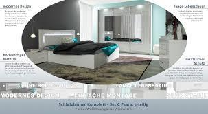 schlafzimmer komplett set c psara 5 teilig farbe weiß hochglanz alpinweiß