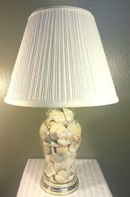 Fillable Table Lamp Base by Home Recycled Home She Sells Seashells Blue Mountain Town