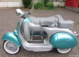 Vespa 1963 Sidecar Outfit