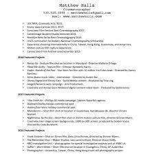 Resume — Matthew Halla