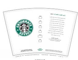 Starbucks Cup Outline Vector Images Of Template Printable Download