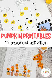 Spookley The Square Pumpkin Activities For Kindergarten by The Perfect Pumpkin Printable For Preschoolers
