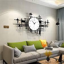 fcx clocks große moderne wanduhr 3d acryl silent quarz atmosphärischen uhr kunst dekorative digitale wanduhr ohne tickgeräusche wohnzimmer