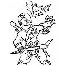 The Cute Ninja Boy With Funky Costume