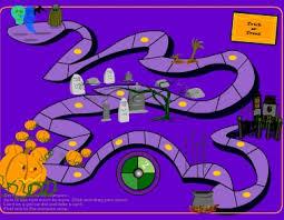 Tricks And Treats Halloween Printable Board Games
