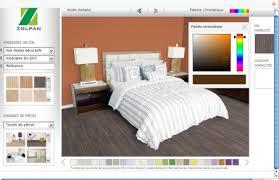 simulation de peinture pour chambre