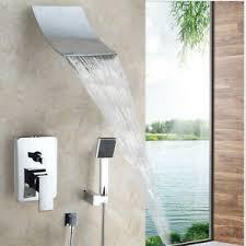 details zu badezimmer wasserfall dusche badewanne set handheld spray mixer ventil wasserhah