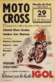 French Motorcycle Posters