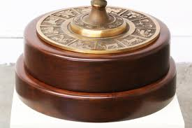 Frederick Cooper Table Lamps Brass by Vintage Frederick Cooper Astrological Zodiac Armillary Lamp