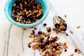 Pumpkin Seeds Low Glycemic Index by Sweetly Spiced Roasted Pumpkin Seed U0026 Raisin Snack Mix U2022 Steele