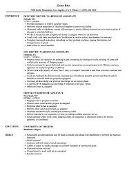Arehouse Resume Sample For Warehouse Assistant Manager Job And