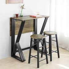 sobuy ogt24 n 5 teilige essgruppe esstisch mit 4 stühlen klapptisch esszimmer sitzgruppe küchentisch