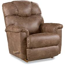 Lazy Boy Rocker Recliner Is Beautiful Aesthetics And Exceptional Comfort Brown Leather