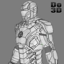 Image And Iron Man Mark 42 Coloring Pages