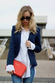 how to casual chic oversized shirt u0026 red lips