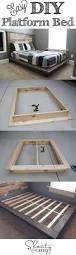 easy diy platform bed platform beds diy furniture projects and