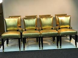 Suite Of Eight Gold Faux Snakeskin Chairs With Decorative Gold Buckle Backs Living Room Ikea 21 Ways To Decorate A Small And Create Space Boss Office Products Black Traditional Style Executive Reception Waiting Chair Kettering Medical Center Area Renovation 50 Home Design Ideas That Will Inspire Productivity Cheap Chairs With Arms Modern Decoration Midcentury Armchairs For Your Next Interior Stunning Two Computers 2xhome Stacking Lucite Transparent Uv Outdoor Ding Molded Patio Kitchen Designer Armless Clear Types Visitor Shop Online At Overstock
