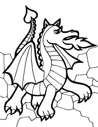 Free Printable Dragon Coloring Pages For Kids Inside Of Dragons