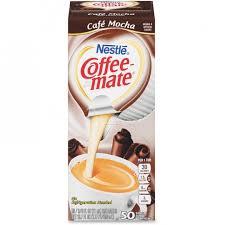 Nestle Professional 35115 Coffee Mate Cafe Mocha Creamer Singles