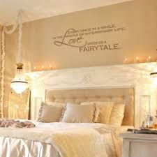 Wall Decal Quotes Fairytale And Vinyl Decals On Pinterest Romantic Bedroom Decor Awesome