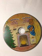 The Berenstain Bears Christmas Tree Dvd by The Berenstain Bears A Time For Giving Dvd Ebay