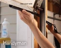 Fixing Garage Door Bottom Seal — The Family Handyman