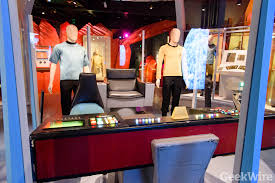 Star Trek Captains Chair by Star Trek U0027 Shows Its Agelessness In Emp Exhibit U2013 Geekwire