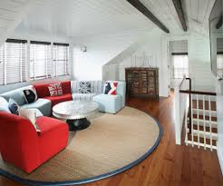 Red Sectional Living Room Ideas by Good Looking Rustic Bonus Room Ideas Living Room Rustic With Brown