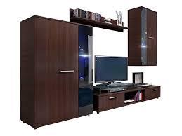 wohnwand salsa design mediawand modernes wohnzimmer set