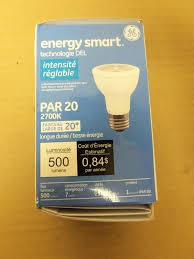 ge halogen performance plus par 20 narrow flood l light bulb