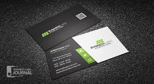 Free Clean & Stylish Corporate Business Card Template