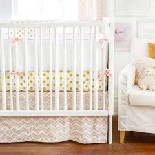 Coral And Mint Crib Bedding by Baby Crib Bedding