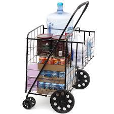 100 Walmart Carts Folding Chairs Oxgord Tote Heavy Duty 150pound Capacity Utility Shopping