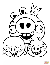 Click The King Pig Corporal And Minion Coloring Pages To View Printable