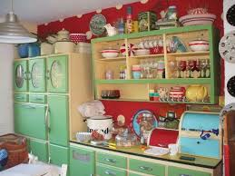 Red Yellow And Green Vintage Retro Kitchen Find This Pin More On Items Decor