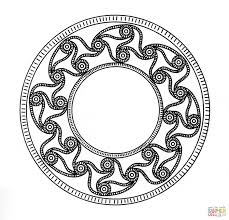 Celtic Tree Of Life Coloring Page And Pages