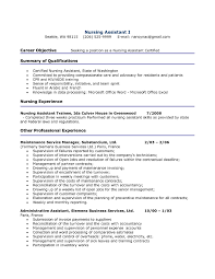 Sample Resume Newly Registered Nurse Without Experience Fresh Cna No Objective Exles For Nursing