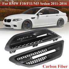 100 Truck Grills 1 Pair Fender Light Side Covers Black For BMW 5