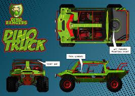 100 Dino Trucks ArtStation Rangers Truck Alex Parkin